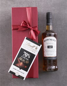 gifts: Red Box of Bowmore 10YR!