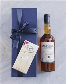 gifts: Blue Box of Talisker 10YR!