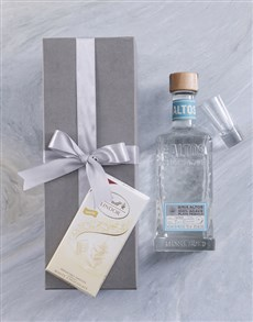 gifts: Olmeca Altos Blanco Giftbox!