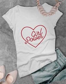 gifts: Girl Power Ladies T Shirt!