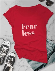 gifts: Fearless Retro Ladies T Shirt!