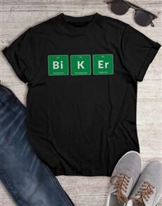 gifts: Periodic Biker T Shirt!