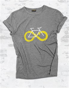 gifts: Infinity Cycling Ladies T Shirt!