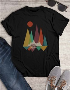 gifts: Mountain Bicycle Graphic T Shirt!