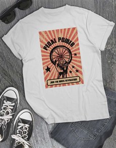 gifts: Pedal Power T Shirt!