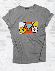 gifts: Bicycle Pop Art Ladies T Shirt!