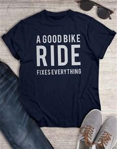 gifts: A Good Bike Ride T Shirt!