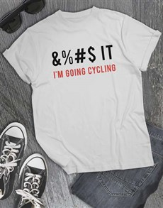 gifts: Im Going Cycling T Shirt!
