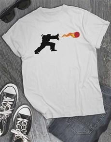 gifts: Fire Ball T Shirt!