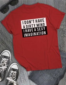 gifts: Sexy Imagination T Shirt!