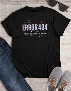 gifts: Glitch Error T Shirt!