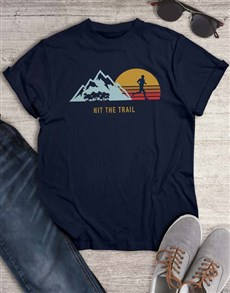 gifts: Hit The Trail T Shirt!