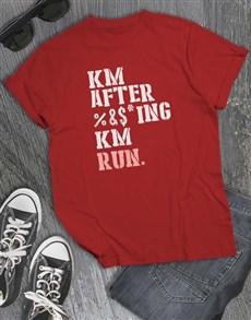gifts: Km After Km T Shirt!