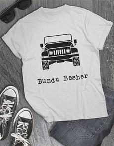 gifts: Bundu Basher Jeep T Shirt!