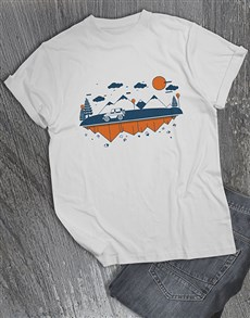 gifts: Jeep Landscape T Shirt!