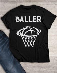 gifts: Basket Baller T Shirt!