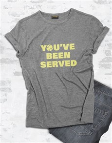 gifts: Youve Been Served T Shirt!
