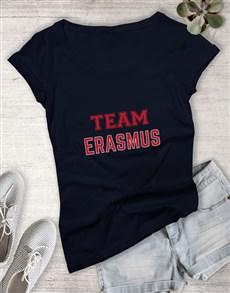 gifts: Personalised Team Ladies T Shirt!