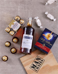 gifts: Martell VS Man Crate!