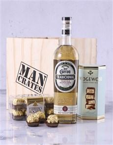 gifts: Jose Cuervo Man Crate!