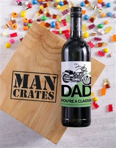 gifts: Classic Dad Man Crate!