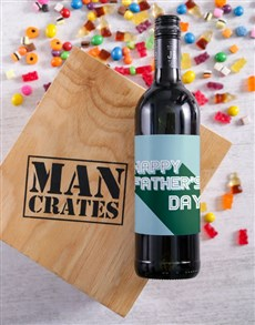 gifts: Fathers Day Wine Man Crate!