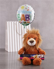 gifts: Lion And Balloon Gift Set!