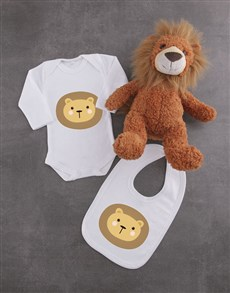 gifts: Baby Lion Gift Set!