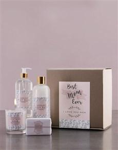 gifts: Best Mom Ever Protea Bath Kraft Gift Set!