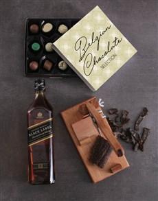 gifts: Johnnie Walker Black Sweet And Salty Hamper!