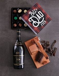 gifts: Brandy Biltong And Truffle Hamper For Dad!