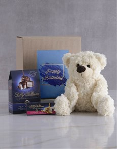 gifts: Happy Birthday Teddy and Nougat Gift!