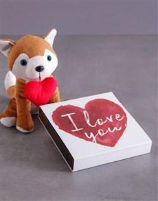 gifts: Foxy Love Hamper!