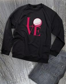 gifts: Golf Lover Ladies Sweatshirt!