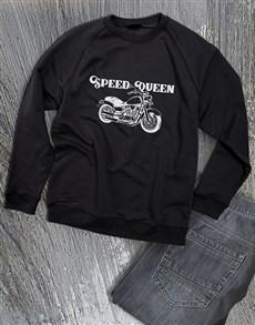 gifts: Speed Queen Ladies Sweatshirt!