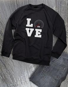 gifts: Love Speed Ladies Sweatshirt!