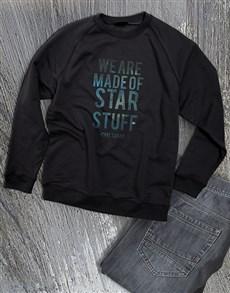 gifts: Made Of Star Stuff Ladies Sweatshirt!
