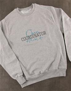 gifts: Chaos Coordinator Ladies Sweatshirt!