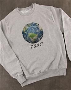 gifts: No Planet B Ladies Sweatshirt!