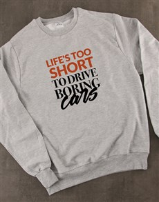 gifts: Boring Cars Ladies Sweatshirt!