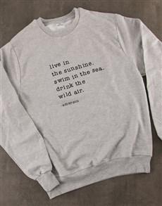 gifts: Drink The Wild Air Ladies Sweatshirt!