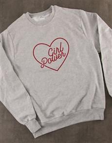 gifts: Girl Power Ladies Sweatshirt!