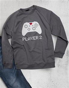 gifts: Player 2 Gamer Ladies Sweatshirt!
