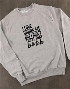 gifts: I Love Drunk Me Ladies Sweatshirt!