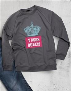 gifts: Yasss Queen Ladies Sweatshirt!