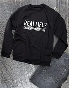 gifts: Real Life Server Sweatshirt!