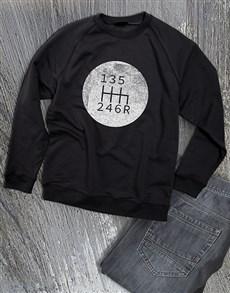gifts: Graphic Gears Sweatshirt!
