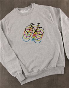 gifts: Cyber Graphic Cycling Sweatshirt!