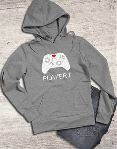 gifts: Player One Gamer Hoodie!
