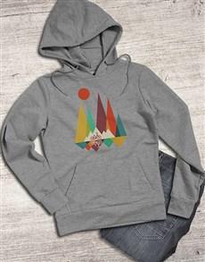 gifts: Graphic Mountain Biking Hoodie!